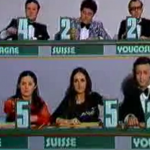 The year before Ralph's first Eurovision entry, each jury member voted live on screen