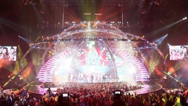 Junior Eurovision lights up the world (image: EBU)