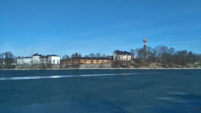 The museum cluster, with the Maritime on the left, Tekniska on the right and the Kaknästornet in the background (Photo: Ben Robertson)