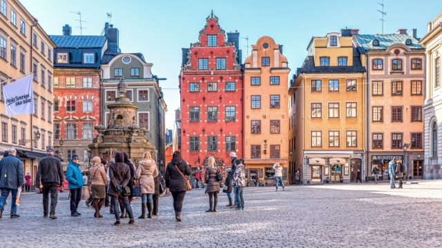 Gamla Stan, Stockholm. I've been twice before. I cannot wait to return.