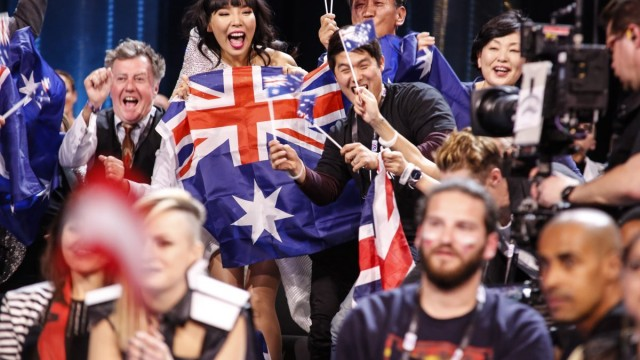 Dami Im celebrates Courtesy eurovision.tv/EBU
