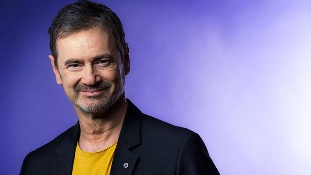 Christer Björkman was one of three jurors in the Junior Eurovision competition this year (Photo: Janne Andersson, SVT)