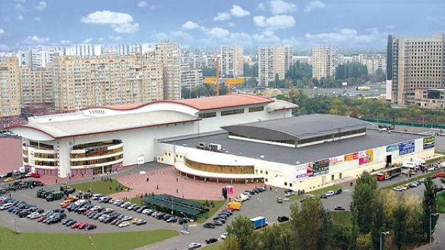 Kyiv's International Exhibition Centre will host the Eurovision Song Contest 2017