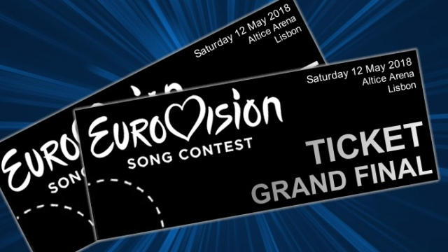 Eurovision 2018 Photoshopped Tickets (via Eurovision World)
