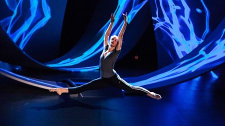 Agnes Klapp representing Sweden at Eurovision Young Dancers 2015 (Photo: Elena  Volotova/EBU)