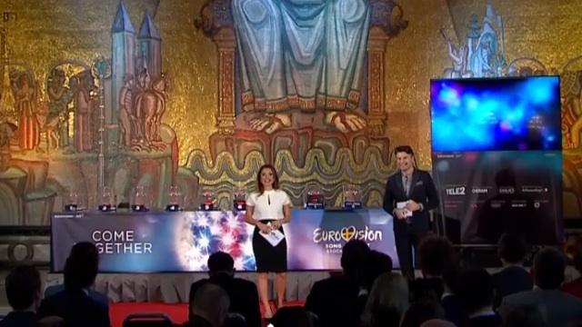 The Semi Final Draw (image: Eurovision.tv / EBU)