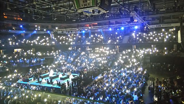 Eesti Laul had the Melodifestivalen feel, but was far more compact (Photo: Ben Robertson)