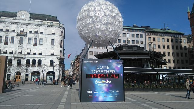Norrmalmstorg is just across the road from Eurovision Village and down the hill from the NK department store (Photo: Ben Robertson)