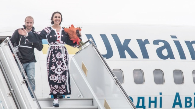 Jamala arrives home. Photo: Popenko, NTU