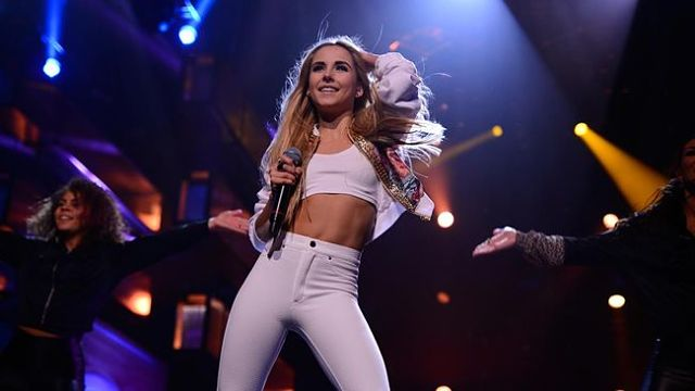 Isa won the last edition of the Artistic Award at Melodifestivalen with her performance of 'Don't Stop' (Photo: Stina Stjernkvist, SVT)
