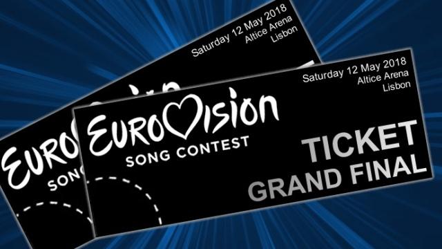 Eurovision 2018 Photoshopped Tickets (via Eurovision World)