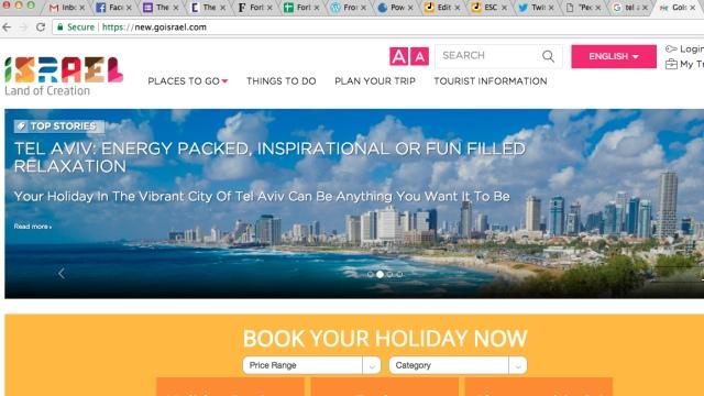 Official Israel Tourism website (goisrael.com)