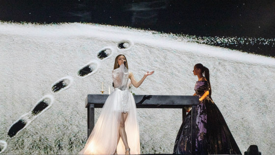 Moldovan Snow (Eurovision.tv/Thomas Hanses)