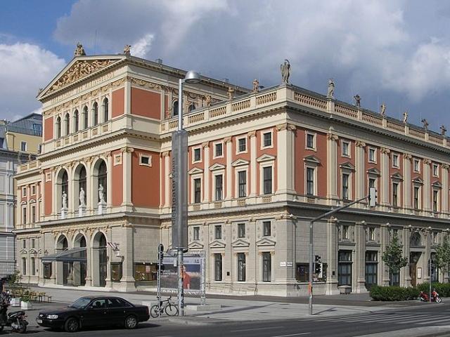 """""""Goldener Saal"""" in Vienna's Musikvereinsgebäude (cc: Wikimedia / Gryffindor)"""