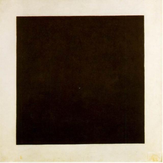 Black Sqyare, by Kazimir Malevich