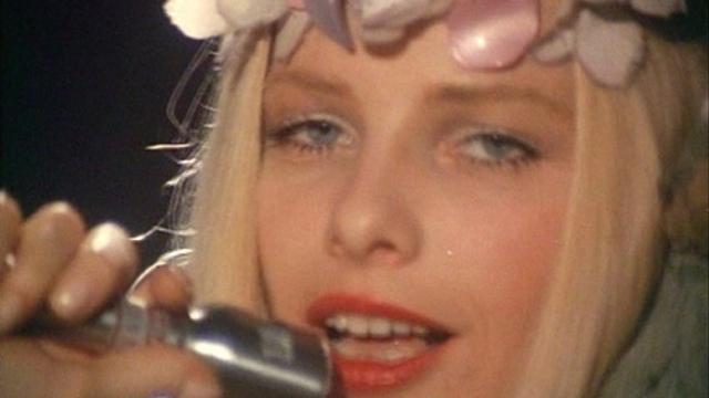 A scene from the film 'Cicciolina Amore Mio'