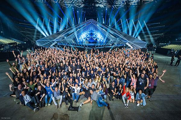 M&M Productions, Eurovision 2019 Crew (Image: M&M Prod)